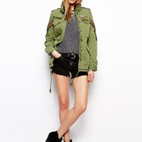 Denim & Supply By Ralph Lauren Parka With Badges