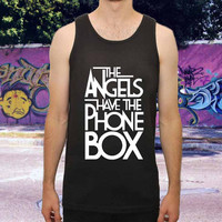 The Angels Have The Phone Box for men,women,tank top