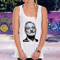 William James Bill Murray for men,women,tank top