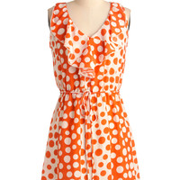 Dot You'd Never Ask Dress | Mod Retro Vintage Dresses | ModCloth.com