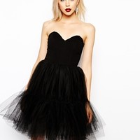 ASOS Netted Prom Dress
