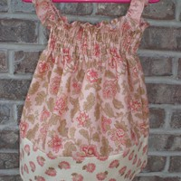 Flower Dress Size 18 to 24 M by littleedesign on Etsy