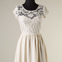 Always and Forever Dress - Cream - Hazel & Olive