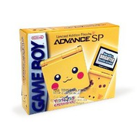 Nintendo Gameboy Advance SP: Limited Edition Pikachu Yellow