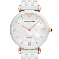Emporio Armani Ceramic Bracelet Watch, 32mm