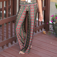 Boho Safari Yoga Pants