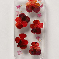 Pressed Violas iPhone 5 Case