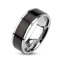 "Stainless Steel Ring, Mens Stainless Steel Ring, ""FREE ENGRAVING"", Stainless Steel Band, R-M0003"