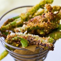 Panko Crispy Green Bean Fries