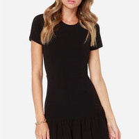 Overnight Sensation Black Dress