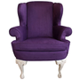 Carrocel - Ethan Allen - Custom Modern Chippendale Wing Chair by Ethan Allen - 1stdibs