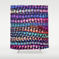 Colourful Layers  - JUSTART ©, edited photography Shower Curtain by JUSTART  * Syl *