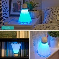 Badminton Shaped Night Light