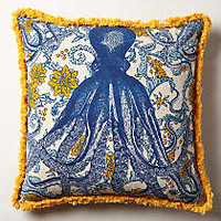 Octopus Garden Pillow