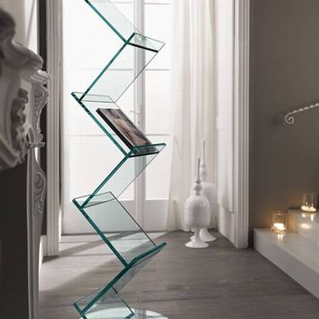 Tonelli Albero | Bookcase | Glass | Storage | Living Room Furniture Ultra Modern
