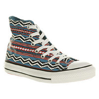 Converse ALL STAR HI AZTEC SMU Shoes - Converse Trainers - Office Shoes