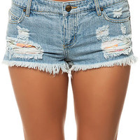 The Sabotage Shorts in Vintage Indigo