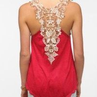 Staring at Stars Crochet Back Tank $39.00