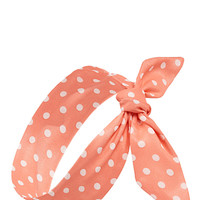 Mod Polka Dot Wire Headwrap