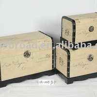 S/3 wooden trunk with fabric design Sales, Buy S/3 wooden trunk with fabric design Products from alibaba.com