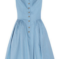 Vivienne Westwood Anglomania|Pannier cotton dress|NET-A-PORTER.COM