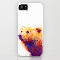 The Protective - Bear iPhone & iPod Case by Jacqueline Maldonado
