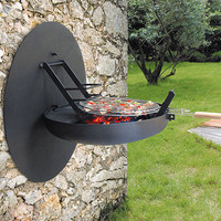 Compact Wall Mount Grill | Shelterness