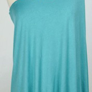 Sex and the City Dress in Aqua
