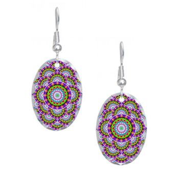 Tribal Mandala 5 Earring