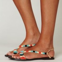 Nyle Bead Sandal at Free People Clothing Boutique