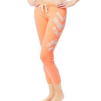 LLD Feather Lounge Fleece Capris