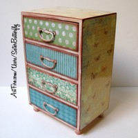 Sister Butterfly Jewelry Chest | sisterbutterfly - Housewares on ArtFire