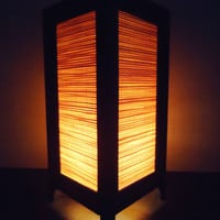 Oriental Bamboo Lamp