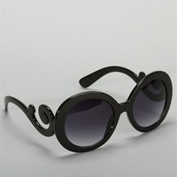 Black Swirl Sunglasses