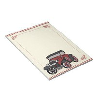 Antique Car Scratch Pads from Zazzle.com