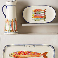 Sardina Serveware by Anthropologie Assorted