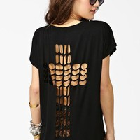 Cross It Out Tee in Collections Back Details at Nasty Gal