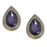 Shimmering Lavender Renaissance Earrings - Made in Italy