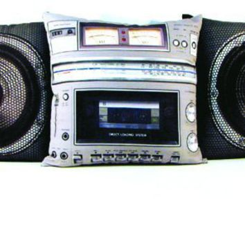 Boombox pillow set ? News In Pictures