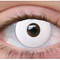 White Out Halloween Contacts | Theatrical Contact Lenses | Special Effect Lenses - ClearlyContacts.ca