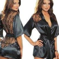 ANDI ROSE Women Sexy Lingerie Dressing Gown Bath Robe Babydoll