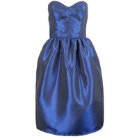 Navy Blue Bell Shape Party Prom Dress | Style Icon`s Closet