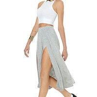 Nasty Gal Split Personalities Skirt