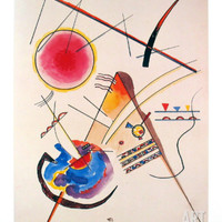Aquarelle Gastebuch, 1925 Art Print by Wassily Kandinsky at Art.com