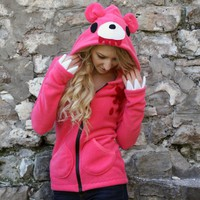 custom GLOOMY BEAR HOODIE | erosdiy - Clothing on ArtFire