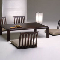 Floor Furnitures: Japan-Style Dining Room Tables &amp; Chairs | Designs &amp; Ideas on Dornob