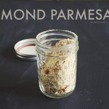 pantry staple: almond parmesan this is something... | HIPSTERFOOD