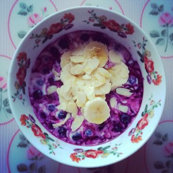 Keeping Healthy Getting Stylish — Had this as a snack earlier, warmed up...