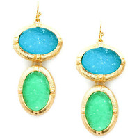Pree Brulee - Wishful Druzy Earrings