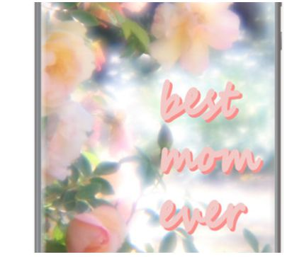 best mom ever By bunnynoir for Apple iPhone 5/5s